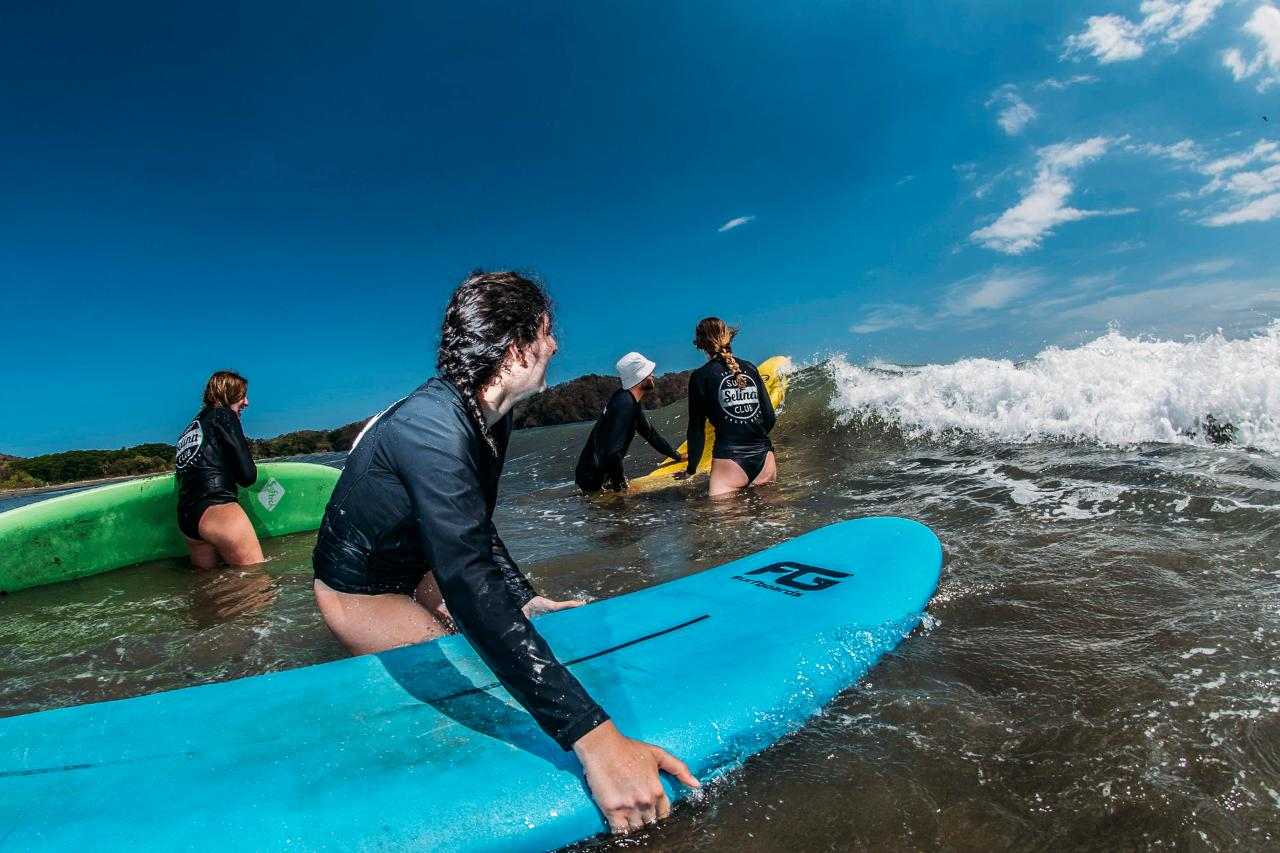 Surf Lessons Package