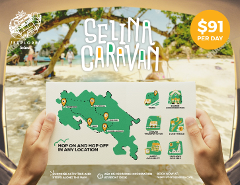 Selina Caravan from San Jose to Manuel Antonio