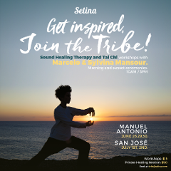 Sounds Healing Therapy and Tai Chi Workshops with Master Healers Marcelo & Sylvina Mansour