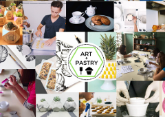 Art & Pastry: Enjoy delicious food and create with passionate local artists