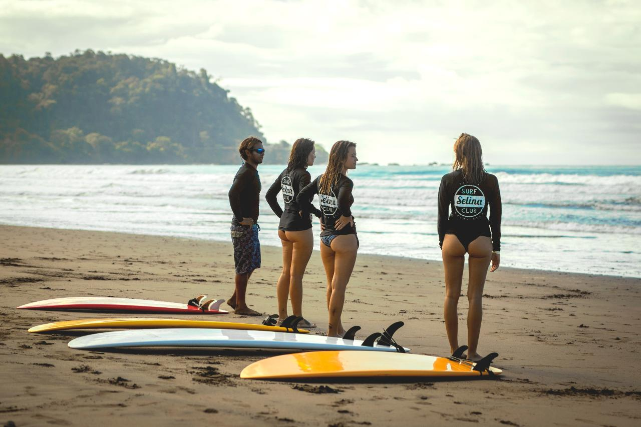 Surf lesson 4 Days Package