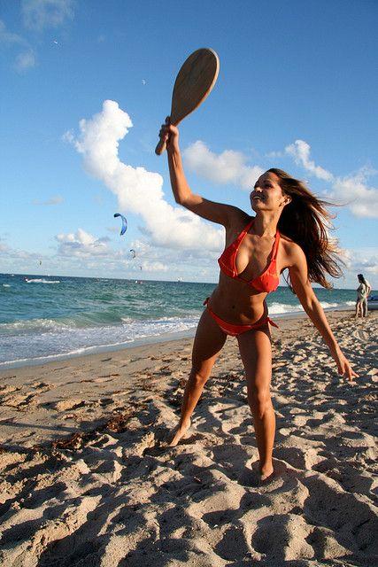 Rent a Beach Racket set