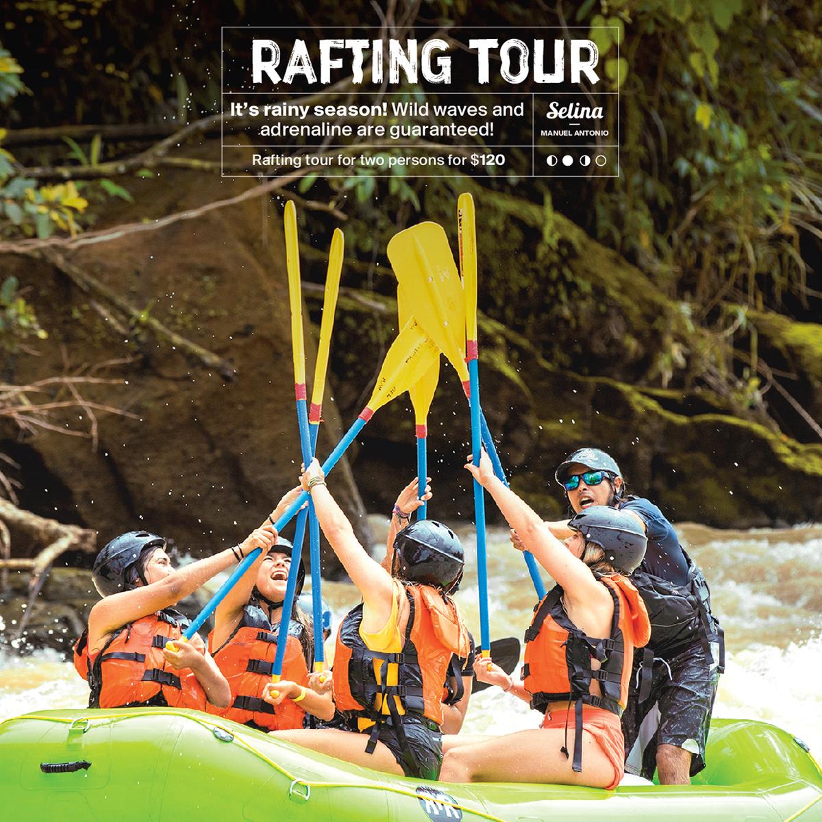Rio Naranjo White Water Rafting for couples