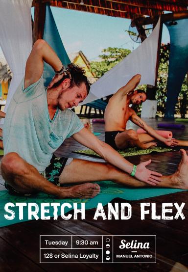 Stretch & flex Luna