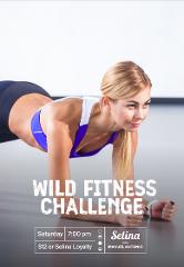 Wild fitness challenge Luna Members