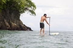 Paddle Board Manuel Antonio Coastline