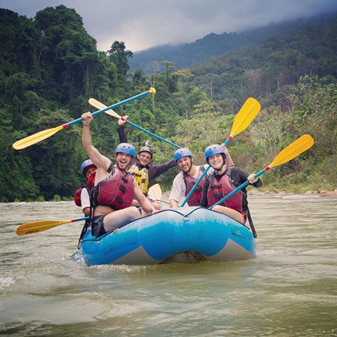 Rio Naranjo White Water Rafting