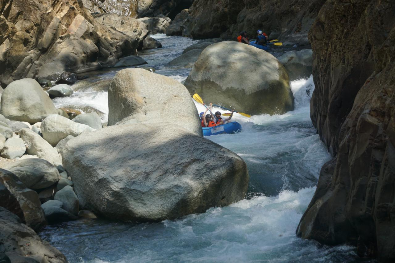 Rafting at El Chorro