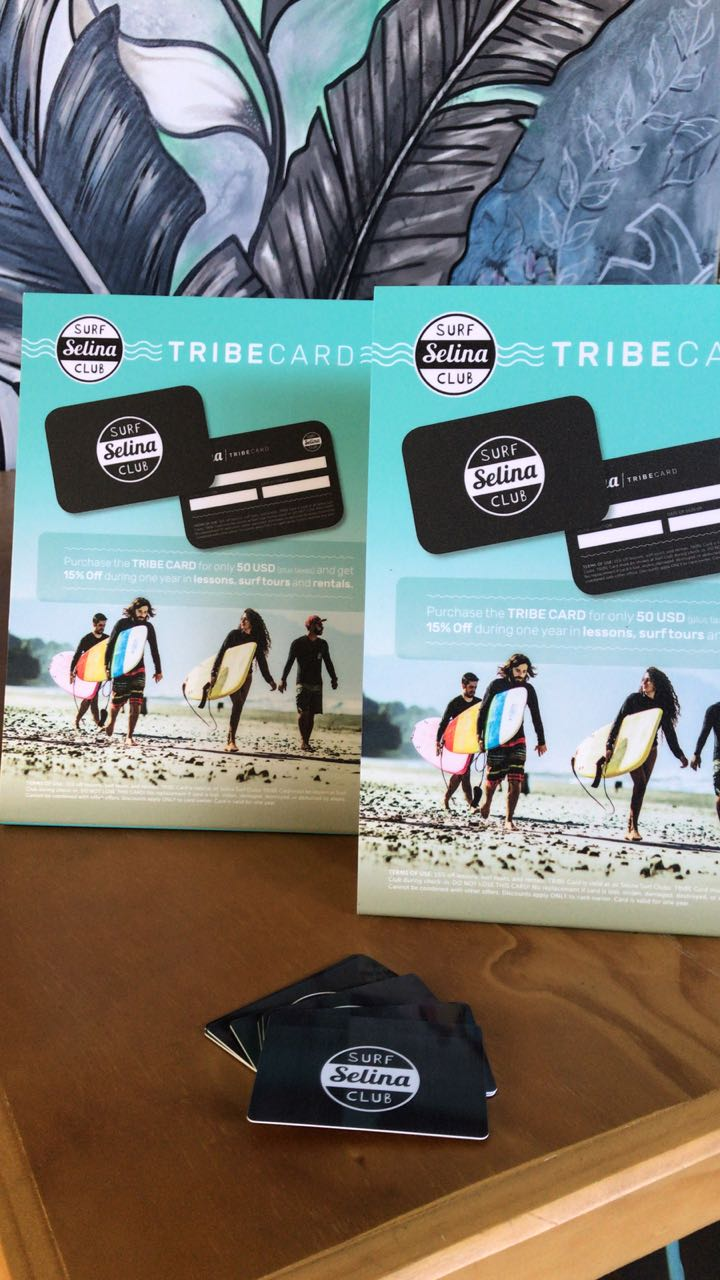Surf Tribe Card
