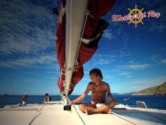 Catamaran sunset marlin del rey