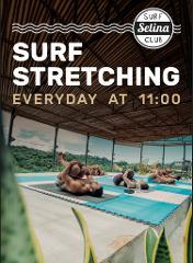 Surfing Stretching