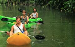 Punta Uva sea kayak and Rainforest Hike