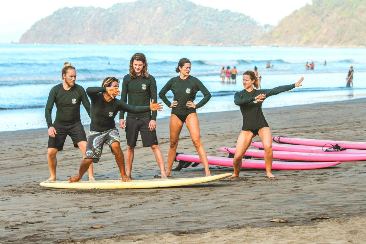 Surf Lessons 7 Night Package