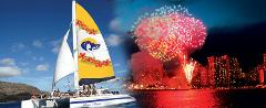 Hawaii Nautical - Hilton Fireworks Dinner Sail - Port of Waikiki