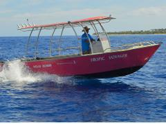 4Hrs Reef Fishing, Island Hopping and Snorkeling - Tropic Voyager