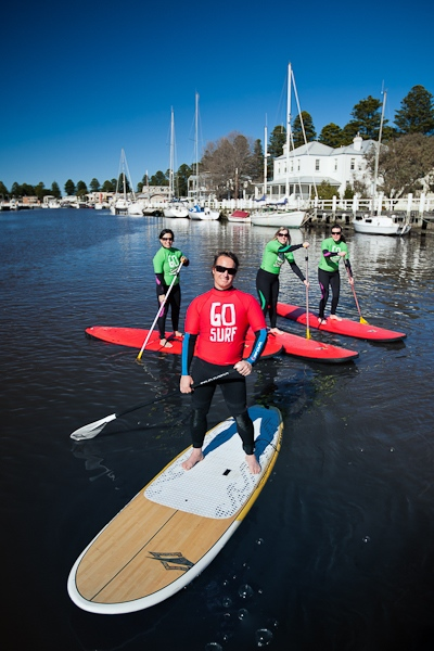 Coasting for Women- Stand Up Paddleboard Tour & Lesson, Port Fairy (Great Ocean Road) 14yrs+