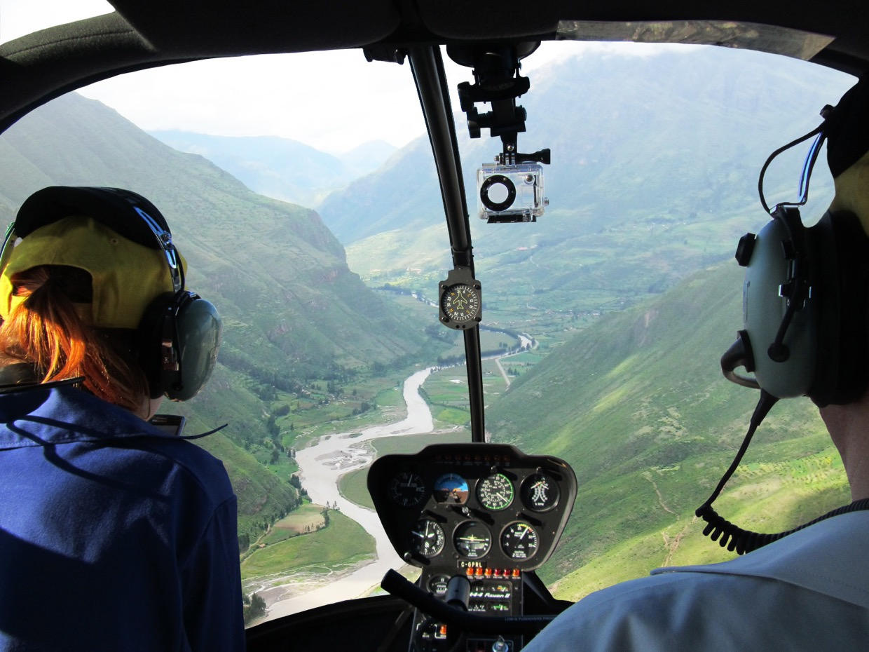 Sacred Valley Helicopter Vip Tour