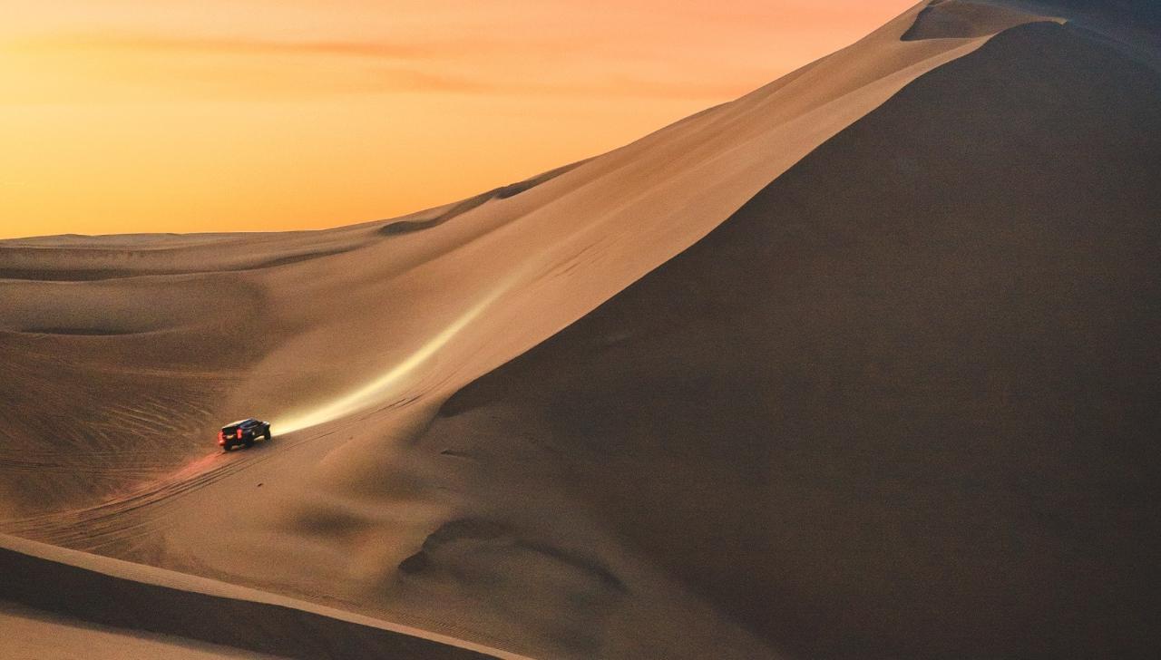 4x4 Dune Ride
