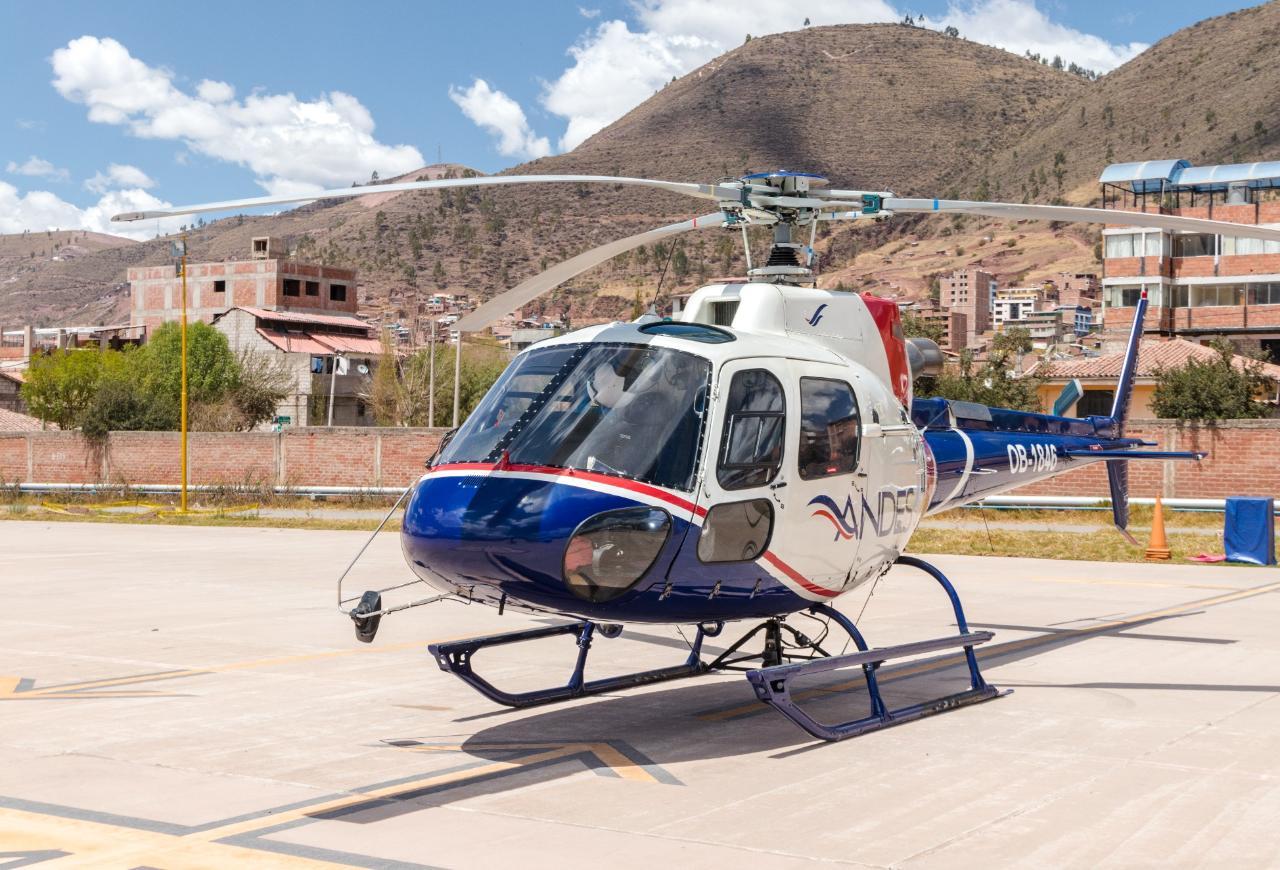 Rainbow Mountain Helicopter Vip Tour