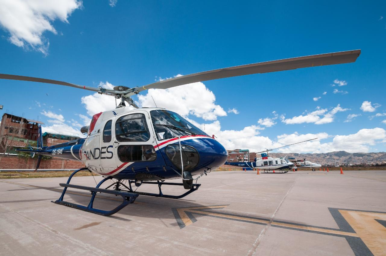 Cusco Helicopter Vip Tour