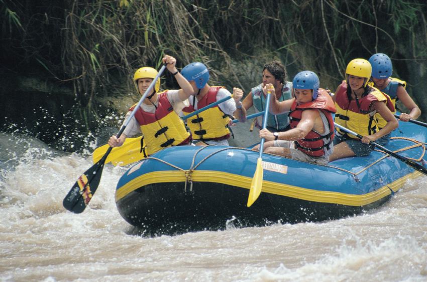 River Rafting: Ollantaytambo - Cachicata Section