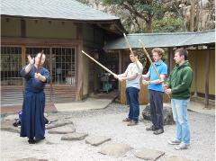 Experience Calligraphy and Kendo at the Oldest Temple in Miyajima (Includes Samurai Lunch)