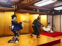 Asakusa Geisha Performance with Buffet Meal (Summer Only)