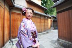 一点物の着物で京都散策プラン