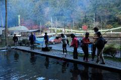 【日の出町自然休養村さかな園】Sakana-en/自然の中でBBQ!ニジマス釣りと牛肉BBQセット