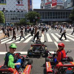 【公道カート東京ベイBBQ】Street Kart Tokyo Bay BBQ  / 東京3時間コース (K-L コース)