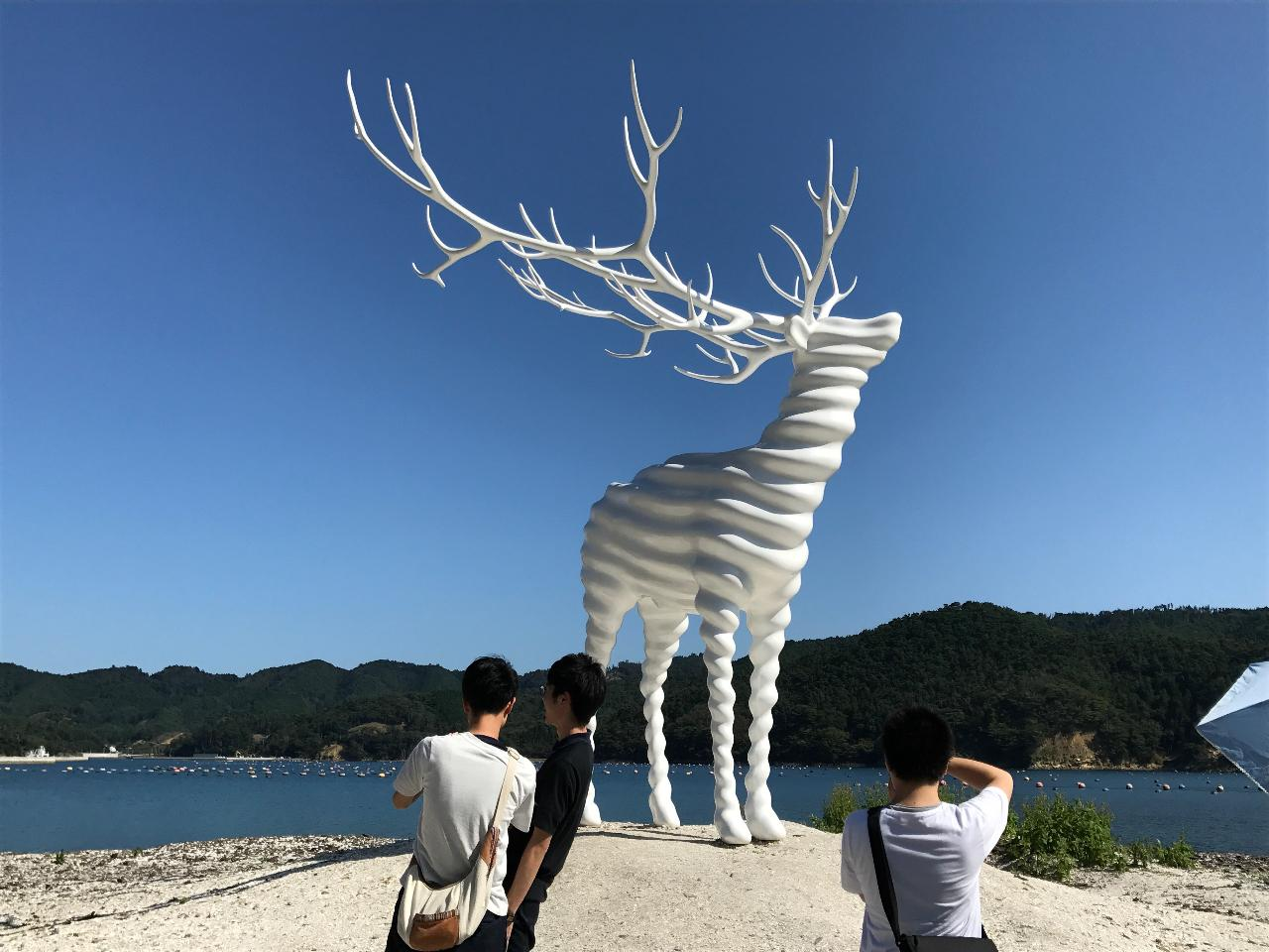 【石巻圏観光推進機構】Ishinomaki/<8/9月期間限定>Reborn-Art Festival主要5エリアを巡る!魅力満載の牡鹿半島バスツアー