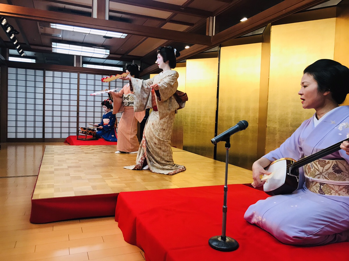 Private Geisha Show Including a Multi-Course Japanese Meal (with English Interpreter)
