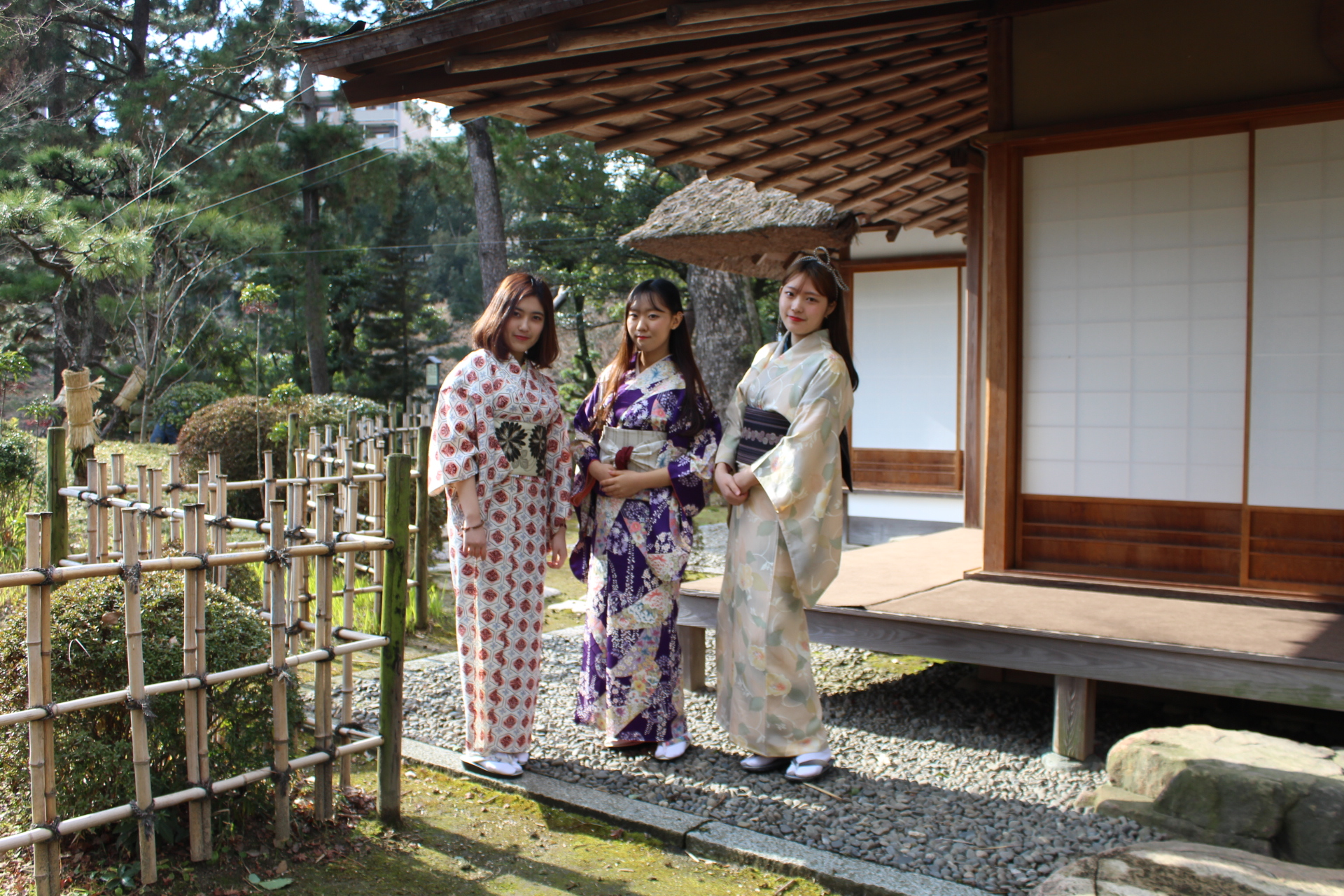 換上和服體驗日本文化&漫步縮景園與廣島城