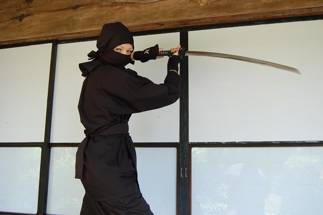 Private transportation from Shinjuku! Ninja experience in Samurai House