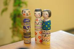 Painting your Kokeshi Doll at Its Birthplace in Aomori