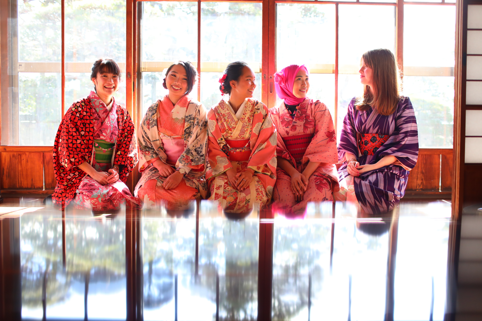 Stroll around Scenic Matsushima in a Kimono! (Rental Kimono Plan)