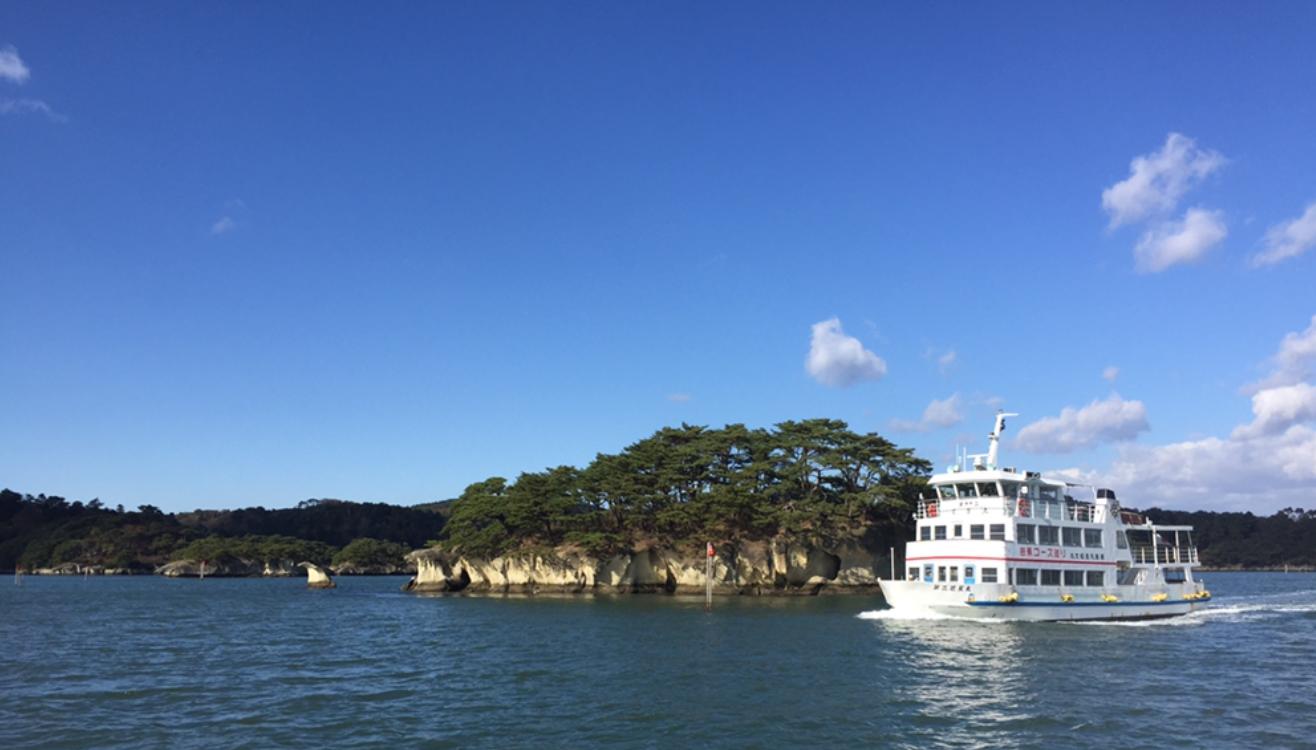 日本三景松島遊覽船&當地特色美食