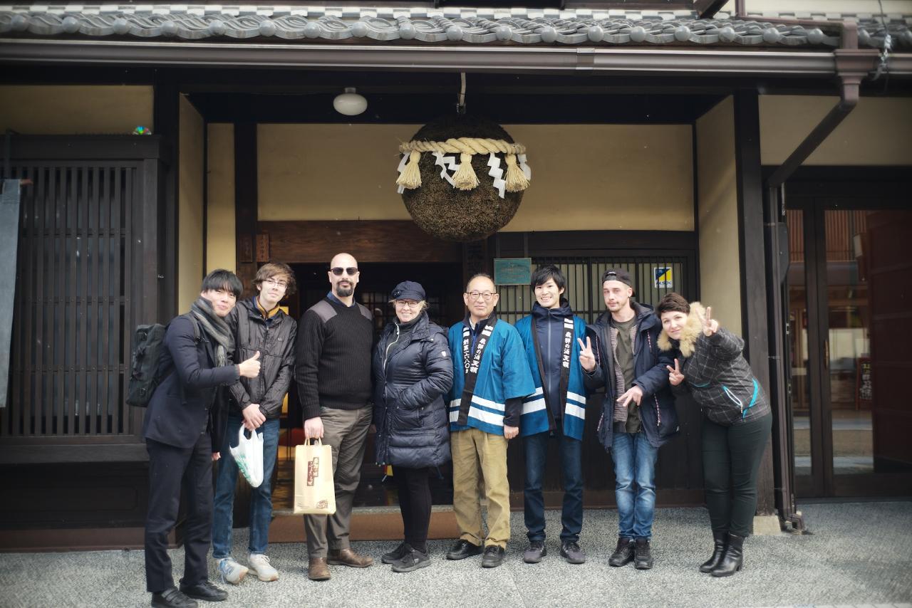 Sake Tasting Experience at Tenryo Sake Brewery