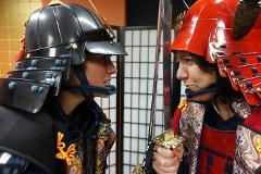 【Samurai Armor】An authentic experience, armor photo-shooting   / 本物を体感!甲冑撮影