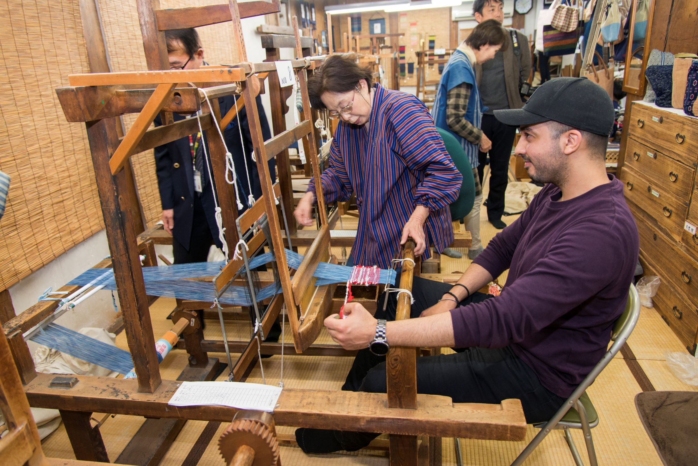 Learn to Spin Thread and Weave With Traditional Chita Cotton