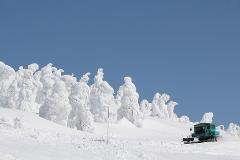 Explore Miyagi's Magnificant Frost Covered Tree Forest by Snow Car