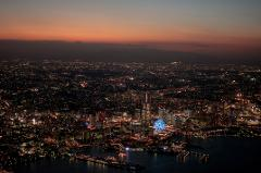 Witness the Stunning Night Sky on a Helicopter Ride After the Sunset (Share-Ride)