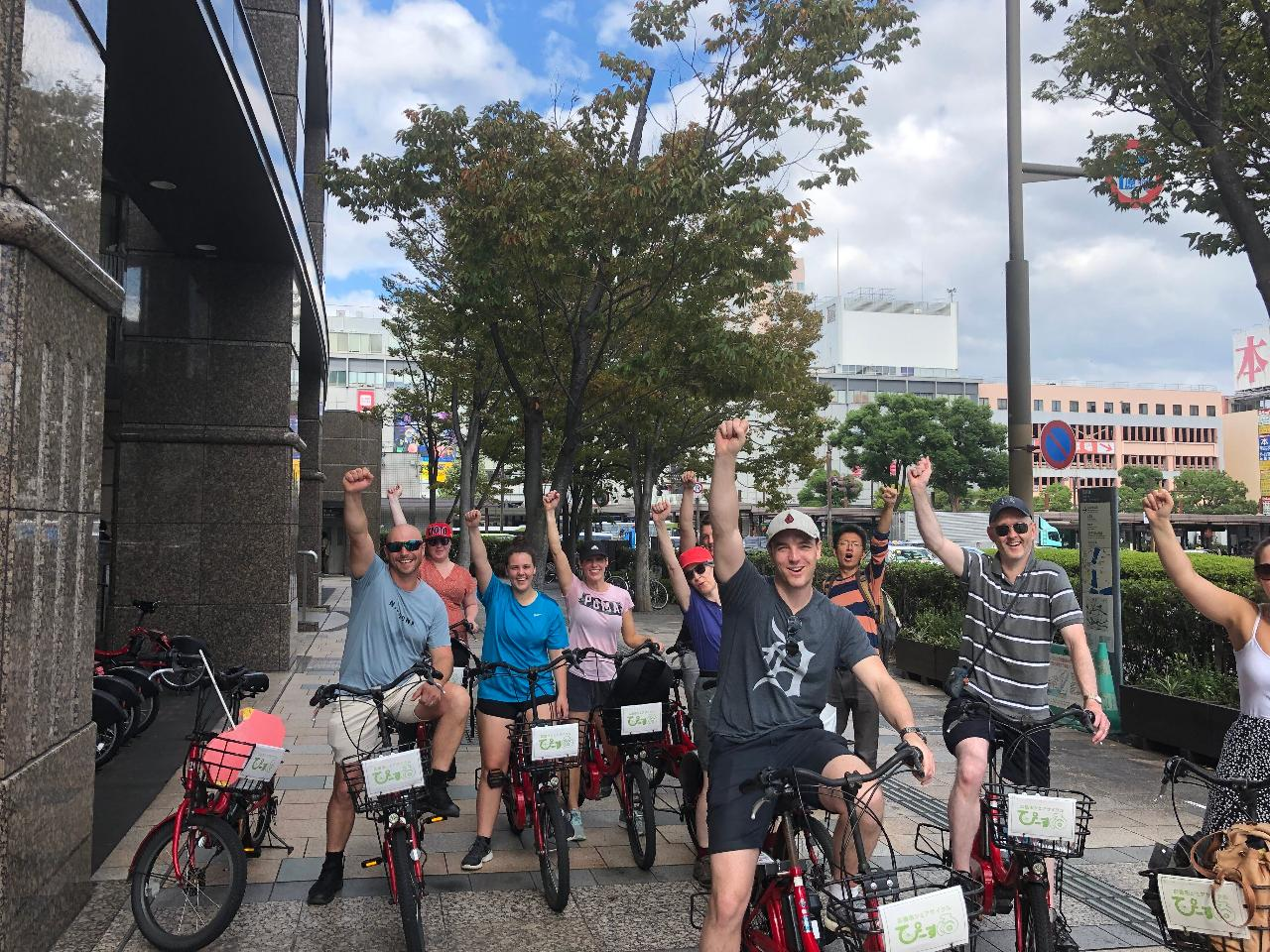 Cycling Tour to Learn the History of Tokyo and Craftsmanship