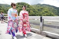 【YUMEYAKATA】One Day Kimono Rental  / 着物1日レンタルプラン