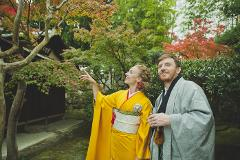 【Experience FUKUYAMA】*Kimono Experience* Take pictures in kimono with a historical Japanese garden in the background/着物体験