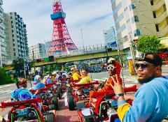 【스트리트 카트 도쿄 베이】STREET KART Tokyo Bay BBQ /  도쿄 코스 / 東京コース