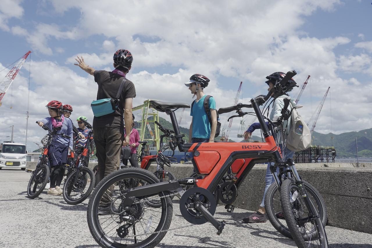 SETOUCHI Islandsの魅力満喫・江田島カスタムメイドサイクリングツアー