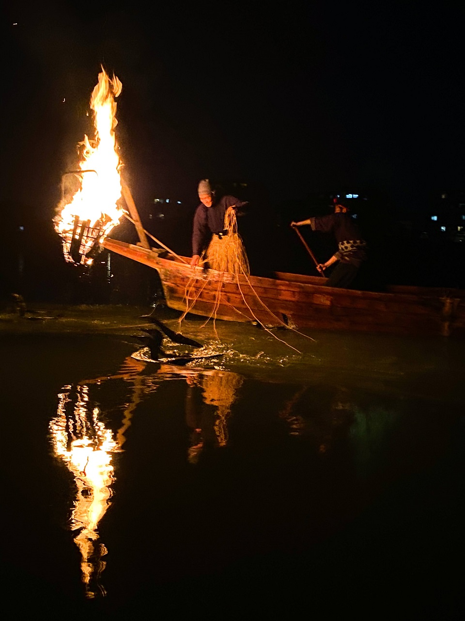 Ukai Evening Plan -- Witness Traditional Cormorant Fishing on the Kiso River
