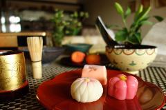 일본의 가정에서 배우는 화과자 만들기 체험