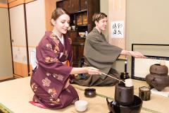 【JIDAIYA】Enjoy the Tea Ceremony with Your Five Senses - Feel the Spirit of Japan and Cherish Every Meeting with the Spirit of Hospitality / 茶道体験 / 浅草 -五感で楽しむ和の心。一期一会のおもてなし